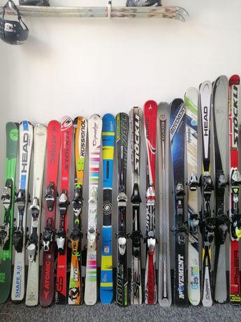 Totalna WYPRZEDAŻ super narty po 199zl!! Zjazdowe twintip slalomki