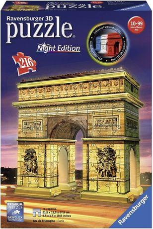 PUZZLE 3D Ravensburger Arc de Triomphe 216pc 3D Jigsaw Puzzl