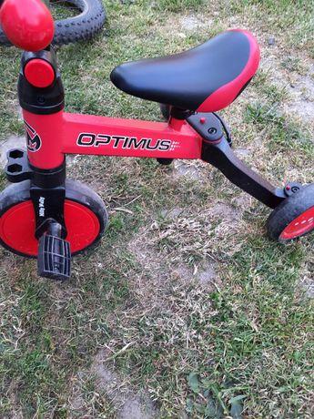 Rowerek biegowy jeździk 3w1 Optimus Milly Mally