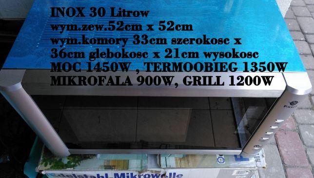 Do Zabudowy Mikrofala Stal Inox 30lit. Termoobieg