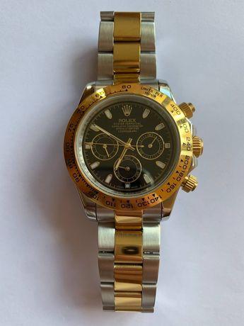 Rolex Daytona srebrno-zloty nowy zegarek automat