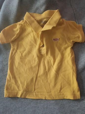 Żółta bluzka Levis