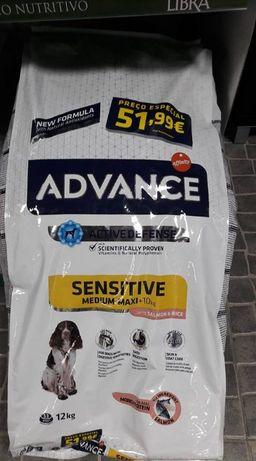 Ração Advance Sensitive para cães 12Kg