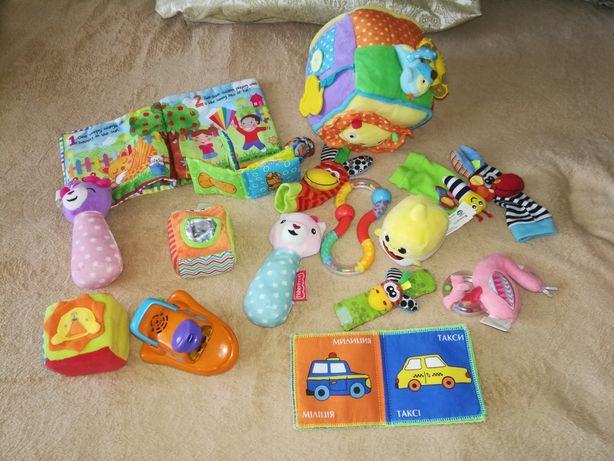 Пакет развивающих игрушек от 0+! все фирменные!