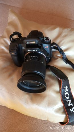 Vendo maquina fotográfica digital DSRL-A350 SONY