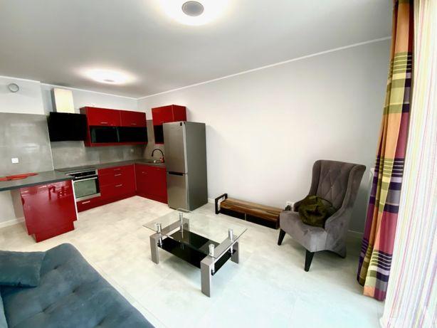 Apartament Nowy Marcelin Grunwald,balkon nowe