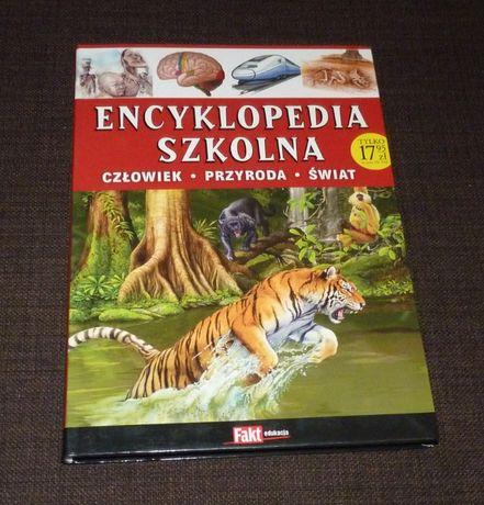 Nowa Encyklopedia Szkolna - Człowiek Przyroda Świat - TANIO