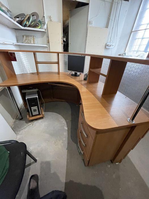 Срочно! Стол ресепш  для менеджера, секреторя, руководителя Запорожье - изображение 1