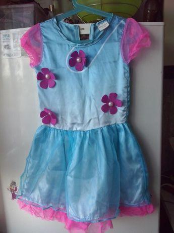 Sukieneczka karnawalowa POPPY TROLLS r.120cm