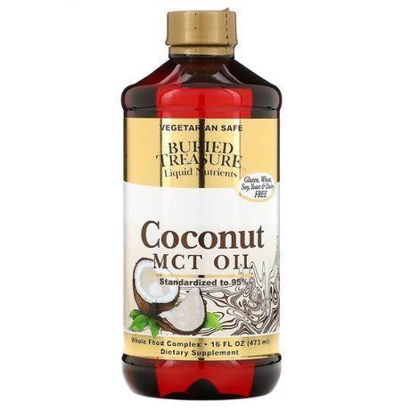 Buried Treasure МСТ кокосовое масло со среднецепочечными триглицеридам