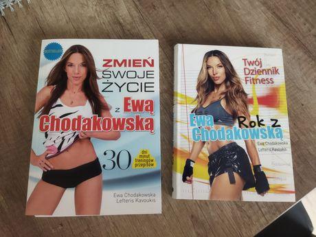 Nowe książki dzienniki Ewy Chodakowskiej