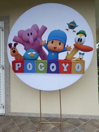 Backdrop / Painel Pocoyo