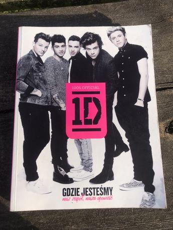 Książka One Direction Gdzie jesteśmy: nasz zespół, nasza opowieść.