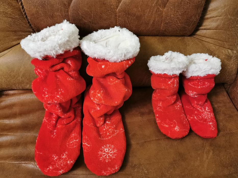 Носки Валенки Тапочки  Новый год family look Одесса - изображение 1