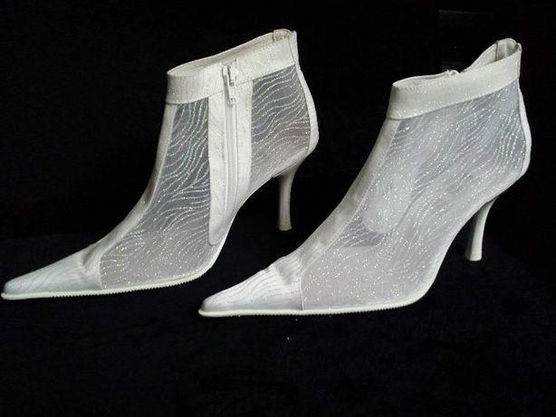 свадебные сапожки туфли