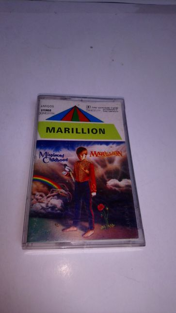 Marillion- Fugazi, Seasons End, 4 kasety.