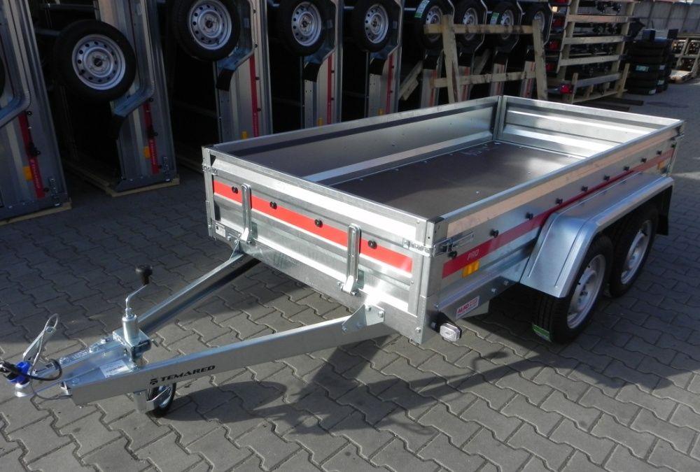 Przyczepa, przyczepka samochodowa PRO 2612/2, 2 osie 750 kg