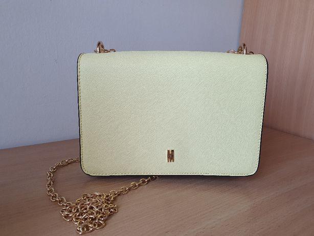 Mohito - Mała torebka na łańcuszku - Pastelowy żółty