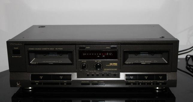 TECHNICS RS-TR232 Magnetofon deck 2 kasetowy stereo segment Wysyłka