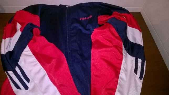 Blusão Adidas de fecho em tecido mousse