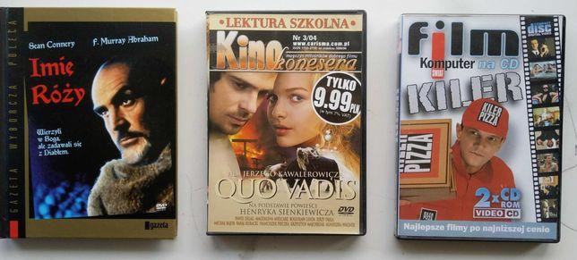 filmy DVD - w zestawie lub na sztuki