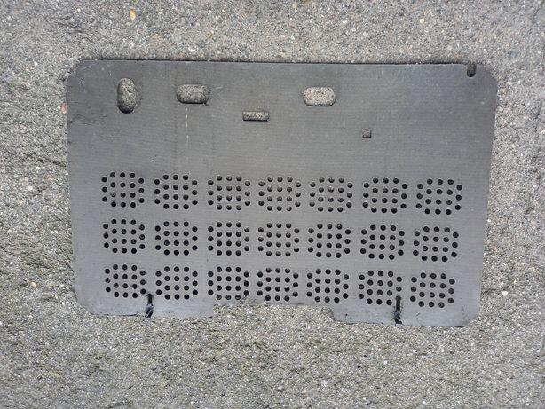 Tył tylna ścianka radio Stolica