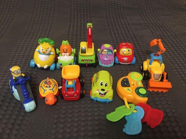 Машинки детские енерционные