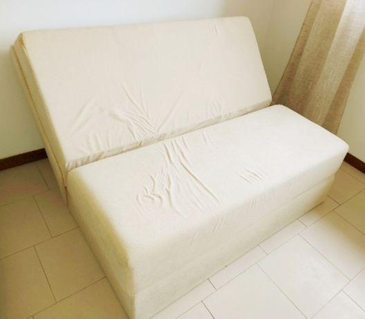 Sofá cama...cambalhota