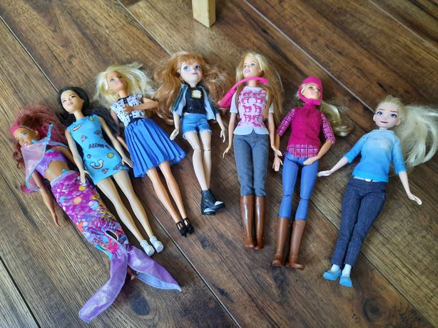 Barbie + Ken + zestaw plus akcesoria