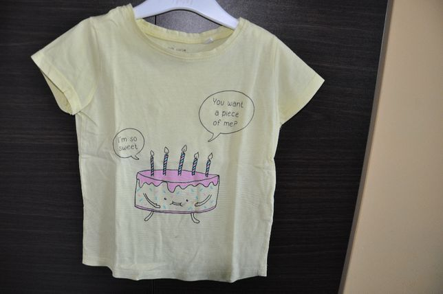 Koszulka z krótkim rękawkiem firmy RESERVED - rozmiar 110cm