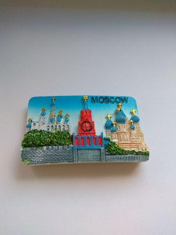 Magnes na lodówkę z Moskwy