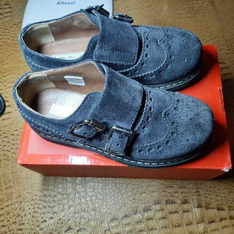 Туфли Mi mi sol 29 раз в идеале оригинал  броги ботинки ferre prada