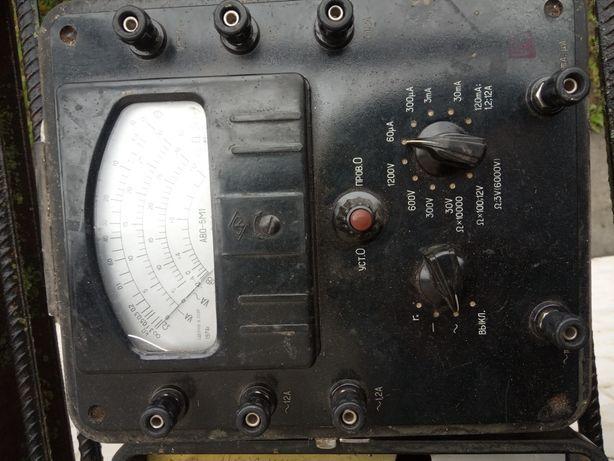 Вимірювальні прилади Аво  5 М 1
