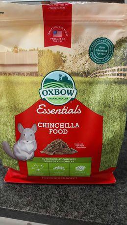 Oxbow,  alimentação para chinchila