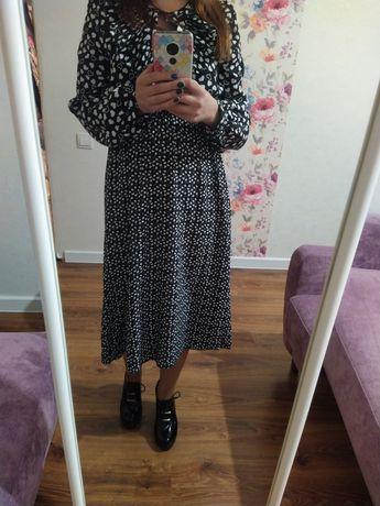 Платье очень стильное (мелкое сердечко)