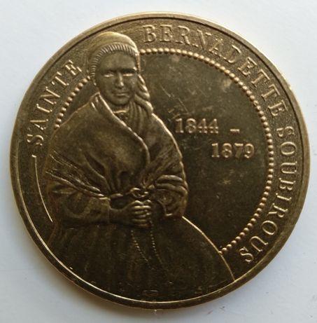 Medalha rara Sainte Bernadette Soubirous