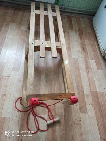 sanki drewniane 110cm odbiór osobisty