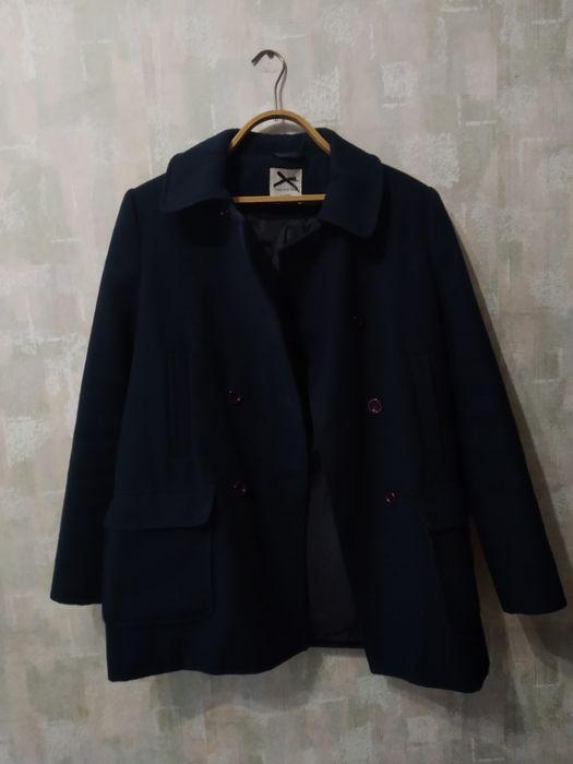 Пальто-пиджак тёмно-синего цвета(500р.) Донецк - изображение 1