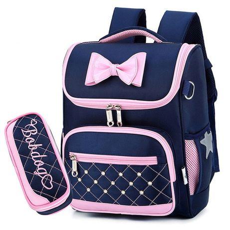 Модный рюкзак Ранец с пеналом для девочки