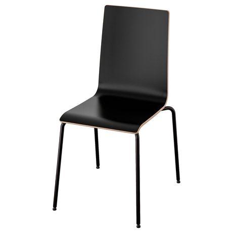 IKEA Martin Krzesło czarne Ikea krzesło meble siedzenie siedzisko ikea