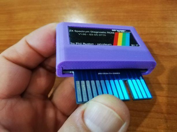 Cartridge ROM Diagnostico para spectrum interface 2/compatível