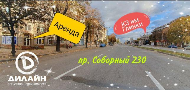 Помещение магазина-кафе на проспекте Соборный (район КЗ им. Глинки)
