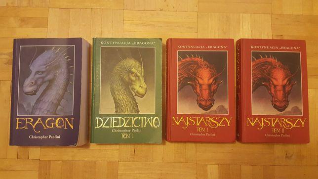 3 Tomy powieści Eragon
