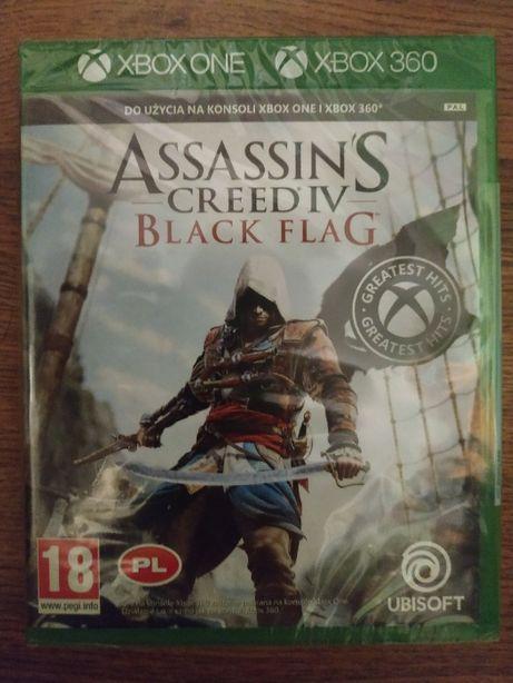Assasin Creed Black Flag xbox one / xbox 360 NOWA w Folii (zdjecia)