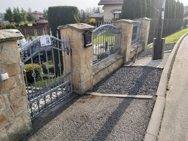 Płot kuty, brama ,furtka ,wykonany na wymiar