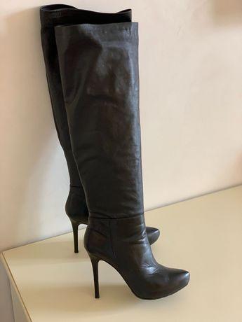 Сапоги ботфорты Fellini 39р 38р Baldinini Zara DG Fendi Gucci