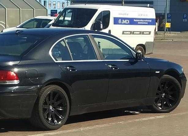 bmw 7  e65,   3,6   LPG Zamiana  na BMW  x5 b