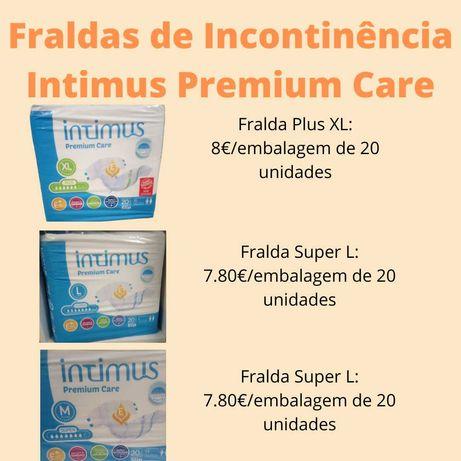 Fraldas de Incontinência de adulto Intimus Premium Care