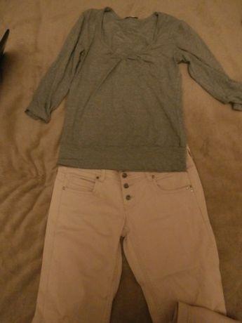 Spodnie Terranova L jak nowe pudrowy róż