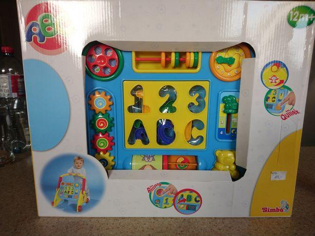 NOWY pchacz interaktywny Simba ABC 12m+ nierozpakowany kupiony za 139!